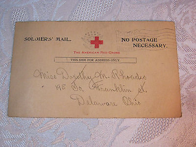Wwi Vintage Military Soldiers Mail  Postcard   T*