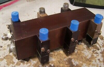 Spraymation Hot Melt Glue Manifold 6 Heads Model 306753