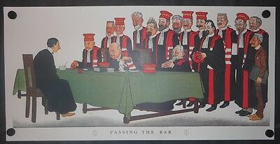 Passing The Bar Legal-Lawyer-Court Art Print