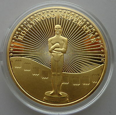 Shirley Temple A LITTLE ANGLE 1 oz .gold plated Commemorative COIN  #2