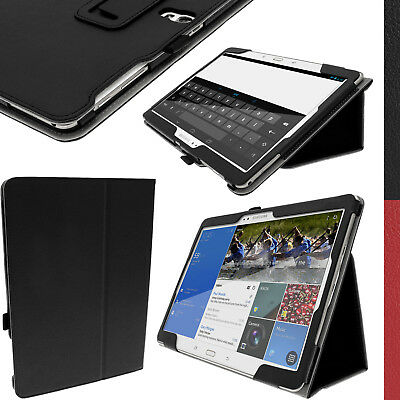 "PU Leather Folio Case for Samsung Galaxy Tab S 10.5"" SM-T800 SM-T805 Stand Cover"