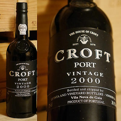 2000er Croft - Vintage Port - Top
