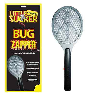 Handheld Bug Zapper Electronic Electric Bat Mosquito Fly Swatter Insects  Pest12