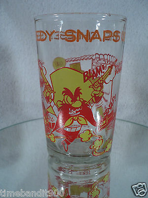 "Warner Brothers1974 Speedy Gonzales ""Speedy Snaps Up The Cheese"". Glass. Fudd."