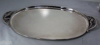 BLOSSOM by  Georg Jensen  Sterling Silver TEA TRAY, #2E