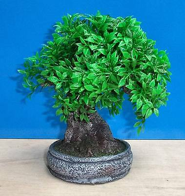 Tree Plant Pot Bonsai Aquarium Ornament Fish Tank Bowl Decoration New