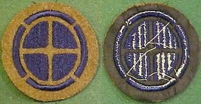1920-WW2 35th Infantry Division on OD Wool Patch