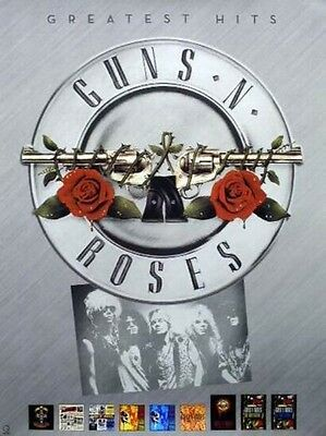 GUNS N' ROSES 2004 greatest hits BIG promotional poster New Old Stock Flawless