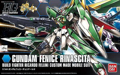 Gundam HGBF Build Fighters 017 Wing Gundam Fenice Rinascita 1/144 Model Kit