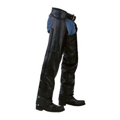 05 Pcs Leather Motorcycle Braided Chaps Deal