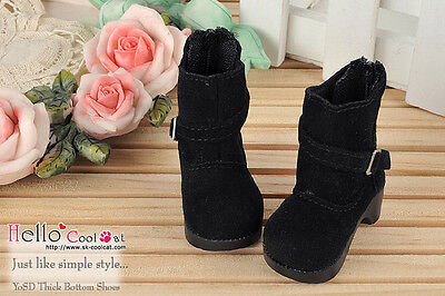 ☆╮Cool Cat╭☆ (50% Off)【SY-06】YOSD Thick Bottom Shoes # Black