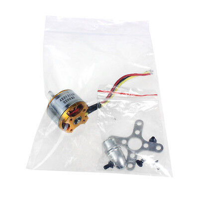A 2212 A2212 2200KV Brushless Outrunner Motor W/ Mount 6T For RC Aircraft F02048