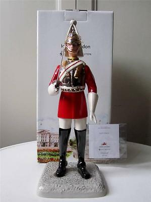 Boxed 11' Royal Doulton Iconic London LIFEGUARD Figure -Queens Household Cavalry