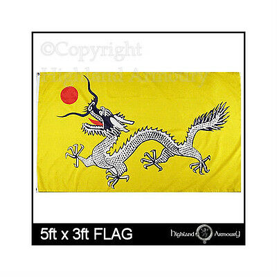 5' x 3' FLAG China Imperial Dragon Dynasty Chinese New