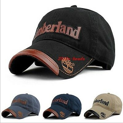HOT Leather Word printed Men's Outdoor golf Baseball Snapback fashion Hat Cap