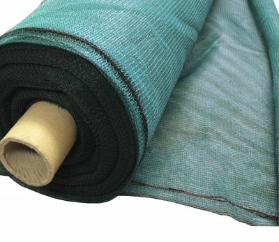 1m wide Horticultural Windbreak Shade Netting 50% with eyelets: various lengths