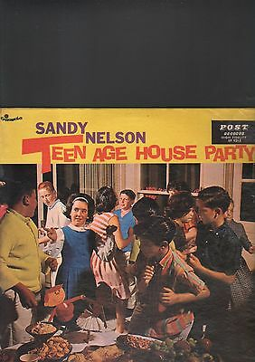 SANDY NELSON - teen age house party LP