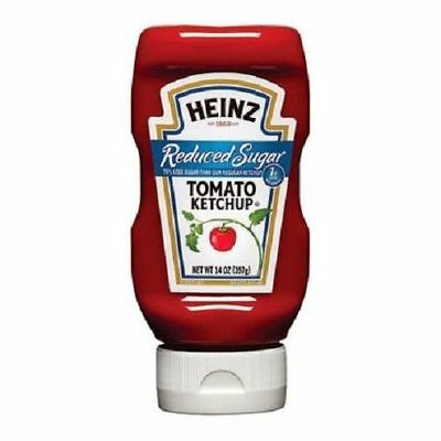 Heinz Tomato Ketchup Reduced Sugar 13 oz Bottle