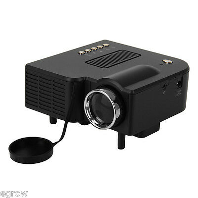 HD Home Theater Multimedia LCD Proyector 1024-HDMI TV PC DVD Paystation VGA/USB