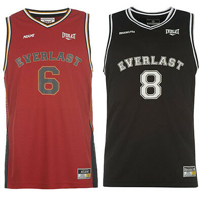 Everlast Basketball Play Off Tank Top Gr S L XL XXL Trikot Shirt NBA neu