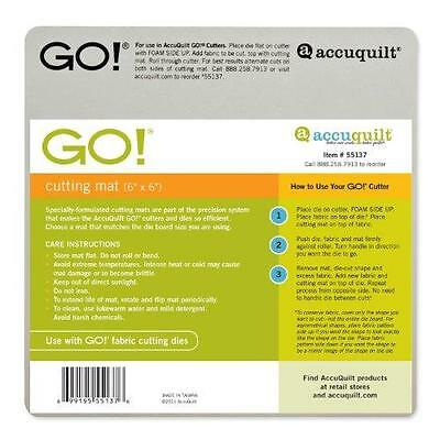 AccuQuilt GO! Baby Cutting Mat; 6-inch-by-6-inch New
