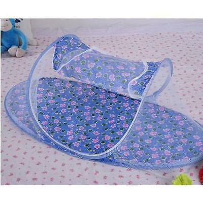 Blue Baby Boy-Instant Pop Up Mosquito Net Crib, Baby Tent, Beach Play Tent, New