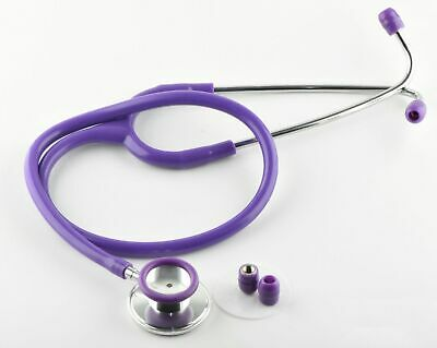 Single Head Stethoscope Medical EMT Nurse Doctor Vet Student  Adult Size  Purple