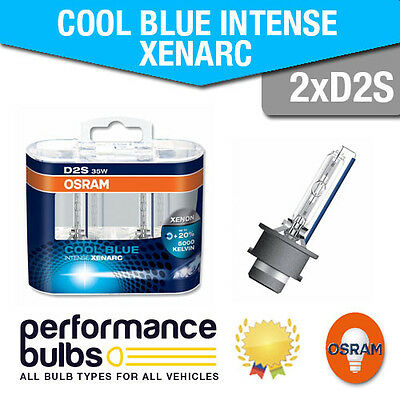 Audi A4 (8E2, B6) 00-04 Low Beam Hid Bulbs [D2S] Osram Cool Blue Intense Xenarc