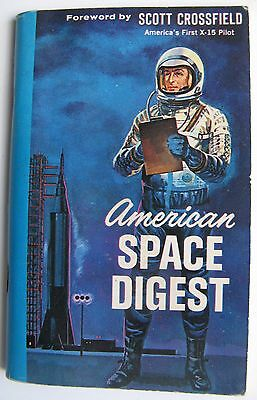 Small Paperback Book - American Space Digest (1963 Schick Razor issue)