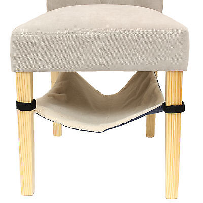 Me & My Under Chair Hanging Cat/kitten Hammock Bed Velcro/fleece Lined Table/leg