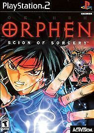 Orphen Scion of Sorcery COMPLETE MINT Sony Playstation 2 PS2