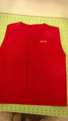 Personalized Adult Leader Patch Vest - New