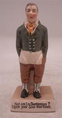 Staffordshire Pottery Figure John Liston as Sam Swipes in 'Exchange No Robbery'
