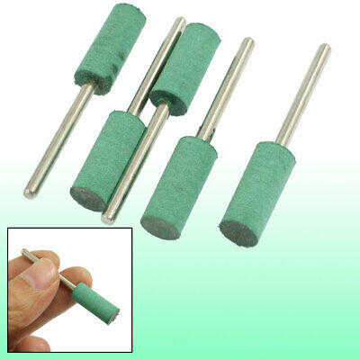 """25//64/"""" Cylindrical Tip Rubber Mounted Point Stone 5 Pcs"""