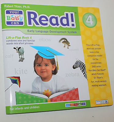 Your Baby Can Read -  Lift-a-Flap Book Volume 4