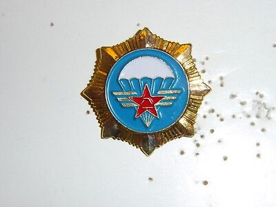 b4340  Chinese Communist Parachute Qualification badge Airborne 1980's IR17E