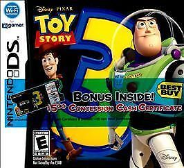 Disney's Toy Story 3 The Video Game COMPLETE GREAT Nintendo DS