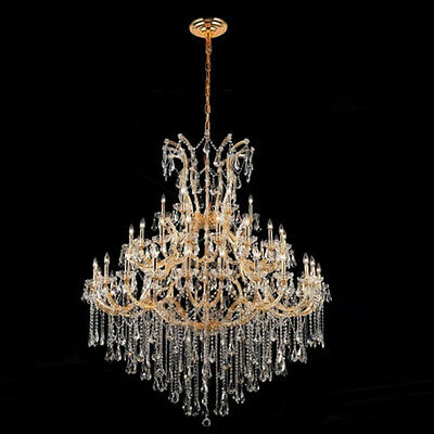 New Crystal Chandelier Maria Theresa Gold 49Lts 60X72