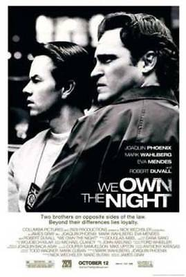 We Own The Night Original Movie Poster 27X40 Joaquin Phoenix, 27x40 Double-Sided