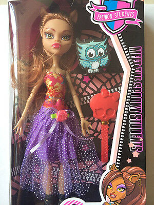 """NEW Monster High 14"""" WISHES Count Fabulous DOLL IN ORIGINAL BOX A-9"""