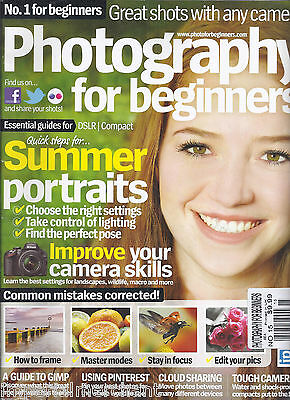 Photography for Beginners magazine Summer portraits Framing Master modes Edit