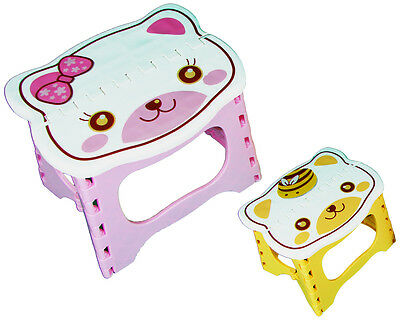 Kinderhocker Tritt Kinder Hocker Kinderstuhl Schemmel Stufe Sitz Hello Kitty