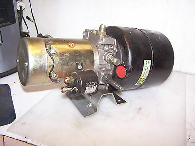 Iskra Ard 1138 Double Acting Hydraulic Power Unit 24 Vdc 150A Motor Zd24
