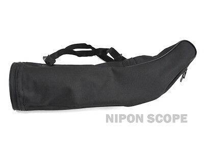 Stay-on waterproof case for scopes. Fit 25-125x92, 30-90x100 scope models & more