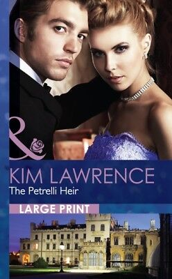 The Petrelli Heir (Mills & Boon Largeprint Romance) (Hardcover), . 9780263231847