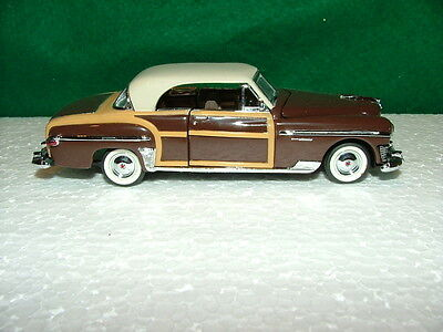 """1987 FRANKLIN MINT  CLASSIC CARS OF THE 50's   """"1950 CHRYSLER TOWN & COUNTRY"""