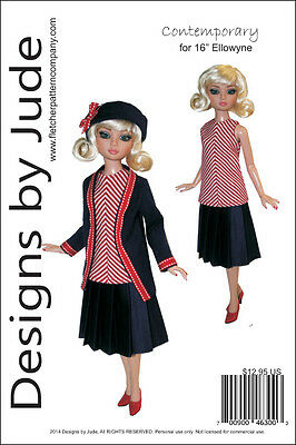 "Contemporary Pattern for 16"" Ellowyne Dolls Tonner"