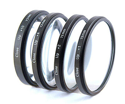 Macro Close up Lenses Lens Kit for Canon EF-S 15-85mm f/3.5-5.6 IS USM Lens