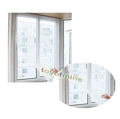 Flyscreen Curtain Insect Fly Mosquito Bug Window Net Netting Mesh Screen DIY