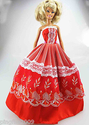 New Handmade Party Clothes/OOAK Outfits For Barbie Doll d887